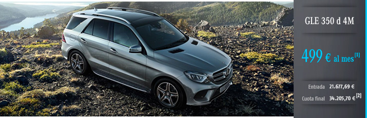 Oferta GLE 350d 4M con Mercedes-Benz Alternative Lease
