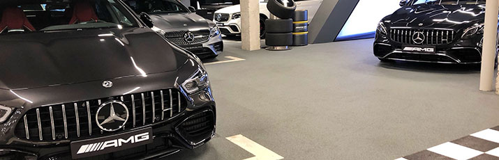 El AMG Performance Center Cars Barcelona